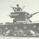 T-26 Modell 1933 bei den Truppen Francos