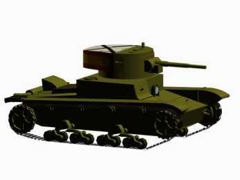 3d-Modell T-26B