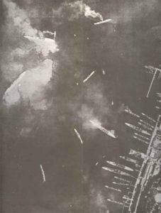 Hafen von Tarent nach englischem Angriff