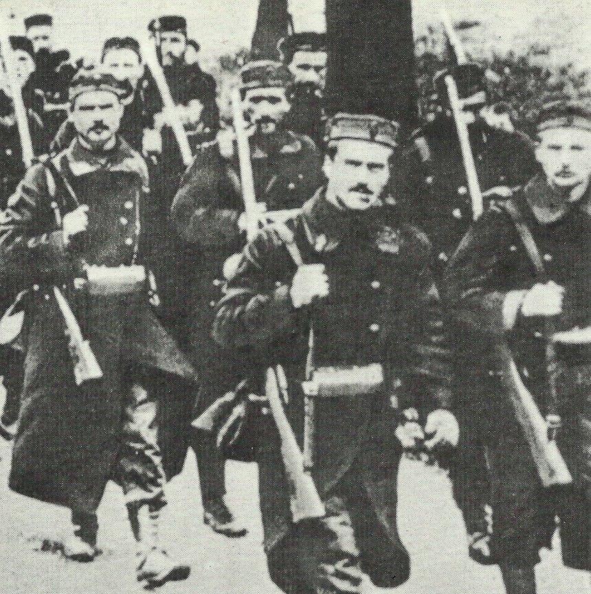 Belgische Soldaten 1914