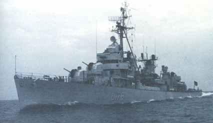 Zerstörer Z-4 der Bundesmarine