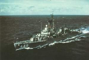 US-Zerstörer 'Nicholas' (DD-449)