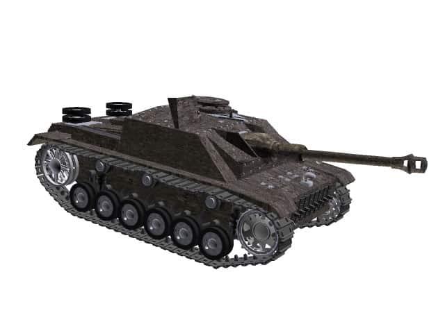 3d-Modell StuG 40 Ausf. G