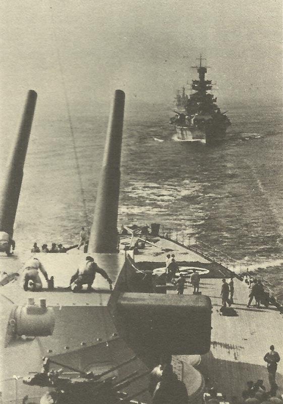 Rohre vom Turm C der Tirpitz