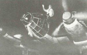 He 111 vor dem Start zu einem Nachtangriff