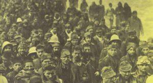 Italienische Kriegsgefangene Bardia