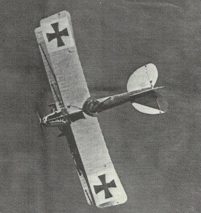 Albatros C III Zweisitzer von oben im Flug