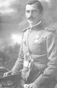 Hauptmann der montenegrinischen Armee