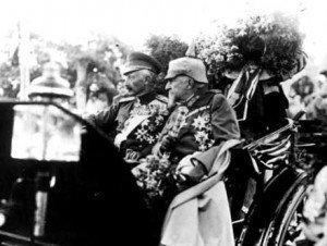 Wilhelm II. und Zar Ferdinand