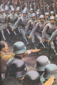 deutsche Truppenparade