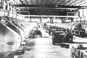 Produktion von Me 210