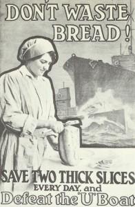 'Verschwende kein Brot !'