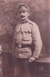 Österreich-ungarischer Soldat