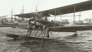 Albatros-Wasserflugzeug