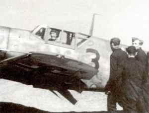 Bf 109F von Günther Rall