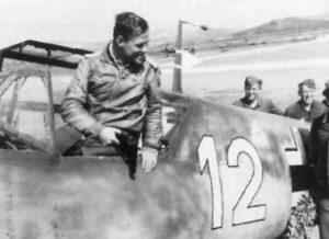 Pilot Me 109 Sizilien