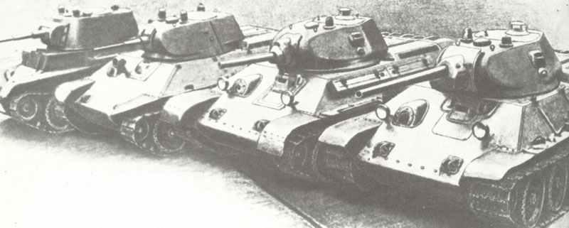 Entwicklung zum T-34