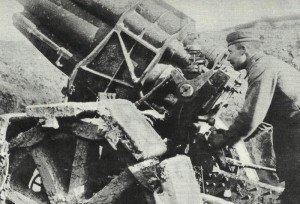 deutscher Mörser Verdun