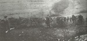Deutsche Infanterie vor Verdun