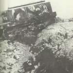 Schneider-Panzer überrollt Graben