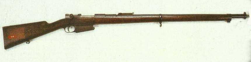 Fusil FN-Mauser mle 1889