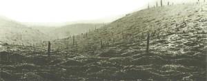 Kraterlandschaft des Hügels 'Mort Homme'