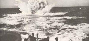 Wasserbomben-Explosion