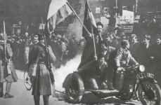 Morgen nach dem Putsch in Belgrad