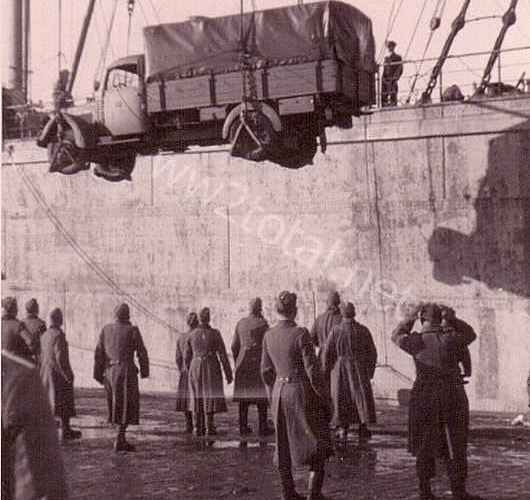05-Verschiffung nach Norwegen