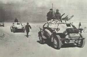 Panzerwagen des Afrika-Korps