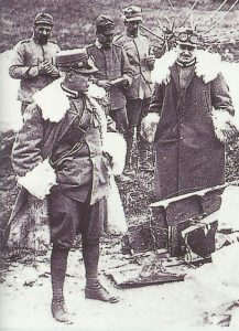 italienische Oberbefehlsaber Cadorna