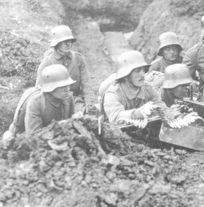 deutsches MG-Team  Verdun