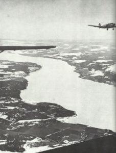 Ju 52 über Borwegens Fjorden