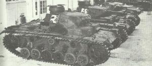 PzKpfw III G ablieferungsbereit in der Fabrik