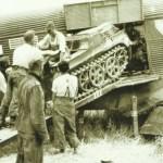 Kettenkrad in Ju 52 verladen
