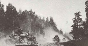 Panzer der Panzer-Gruppe 2 Brest-Litowsk