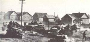 Panzerdivision bei Brest-Litowsk