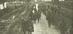 Gefangene Russen Brussilow-Offensive