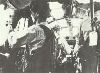 Im Cockpit eines japanischen Fernaufklärers Mitsubishi G3M2
