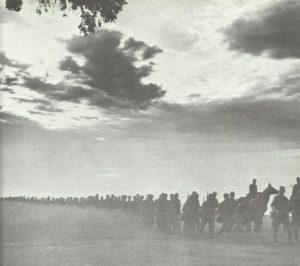 Vormasch deutscher Truppen