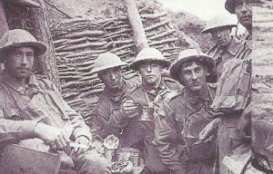 Australische Soldaten Flandern
