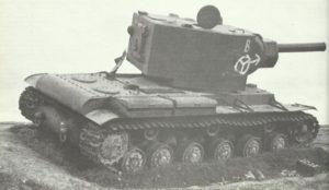 ausgeschalteter schwerer russischer KW-2