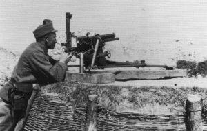 spezielles österreich-ungarisches 47-mm-Infanteriegeschütz