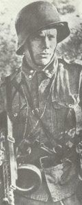 Leutnant Esa Seeste, der frühere finnischer Olympionike