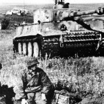 Tiger-Panzer der SS-Division Das Reich bei Kursk