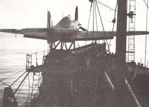 umgebauter Frachter (CAM-Schiff)
