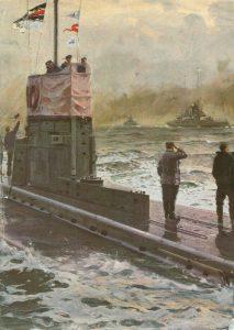 U-Boot grüsst Schlachtkreuzer