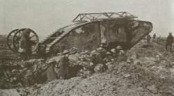 Tank Mk I bei Thiepval