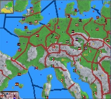 Karte WW2 Total