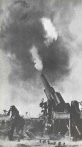 Deutsche schwere Fernfeuer-Artillerie